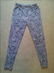 My patterned leggings.
